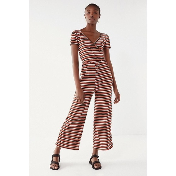Urban Outfitters Pants - Urban Outfitters Striped Jumpsuit